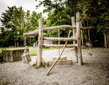 Steinzeit-Parcours